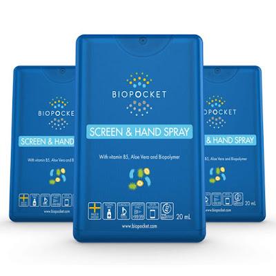 Biopocket Screen and Hand Spray