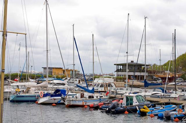 port jachtowy w Pucku, jak wygląda przystań