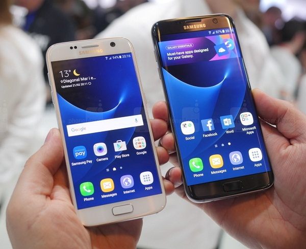 Samsung Galaxy S7 and S7 Edge Hands-on