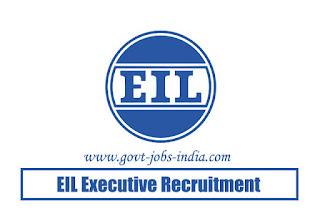EIL Executive Recruitment 2020