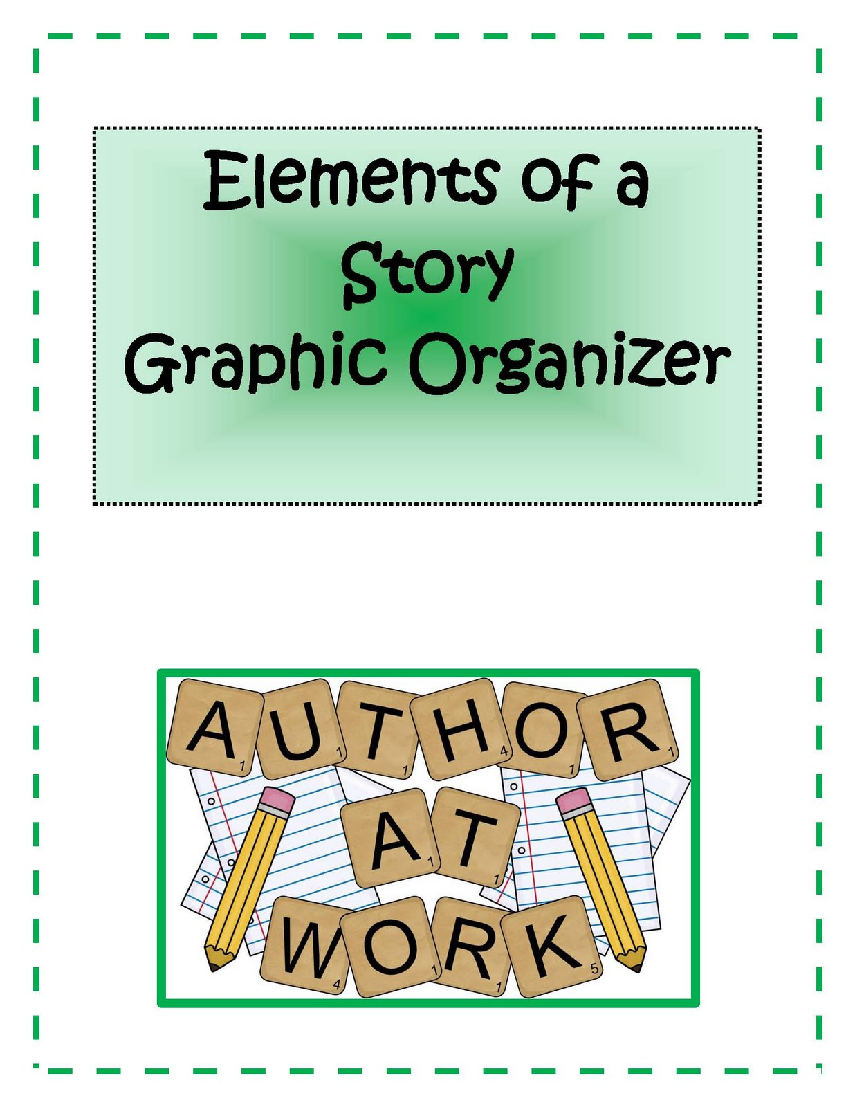 Engaging Lessons And Activities Freebie Elements Of A Story Graphic Organizer