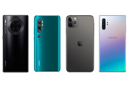 Berikut Smartphone dengan Kamera Terbaik di 2019