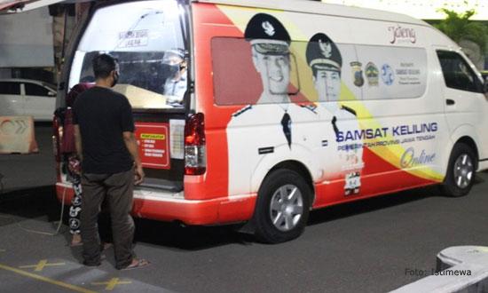 Lokasi SIM Keliling & Samsat Pemalang, Senin 7 September 2020