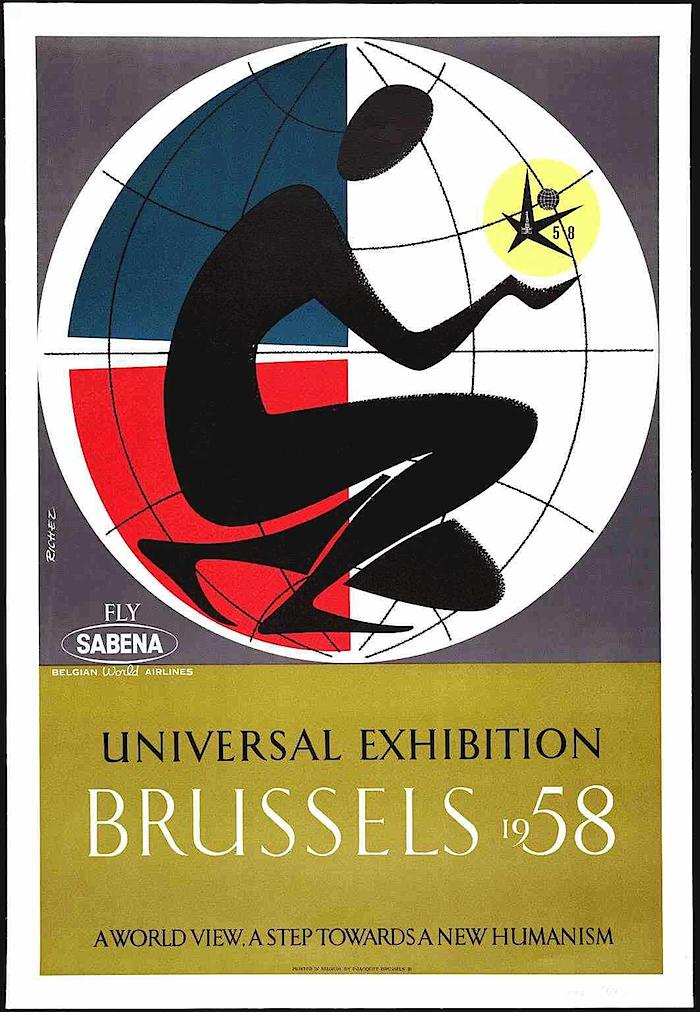 1958 brussels wf poster