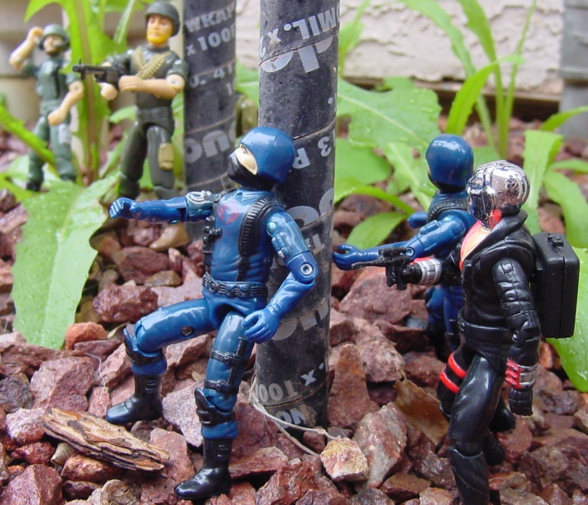 1983 Cobra Trooper, Major Bludd, Hiss Tank, Destro, Rock and Roll, Breaker