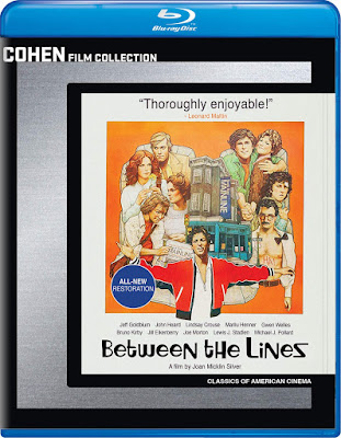 Between The Lines 1977 Blu Ray