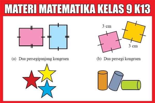 Materi Matematika Kelas 9 Kurikulum 2013 Semester 1/2 Lengkap