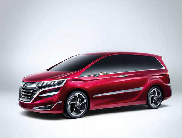 2018 Honda Odyssey Redesign and Powertrain Upgrade