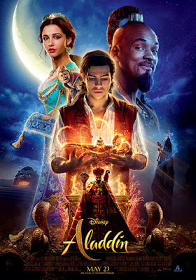 Poster of Aladdin 2019 Full English Movie Download WEB-DL 720p