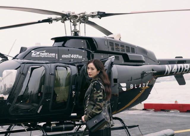 Yang Mi Michael Kors New York Fashion Week