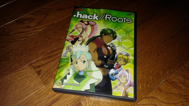 Right Stuf Review $10 Blind box - .Hack//Roots: Terror of Death - Volume Six dvd