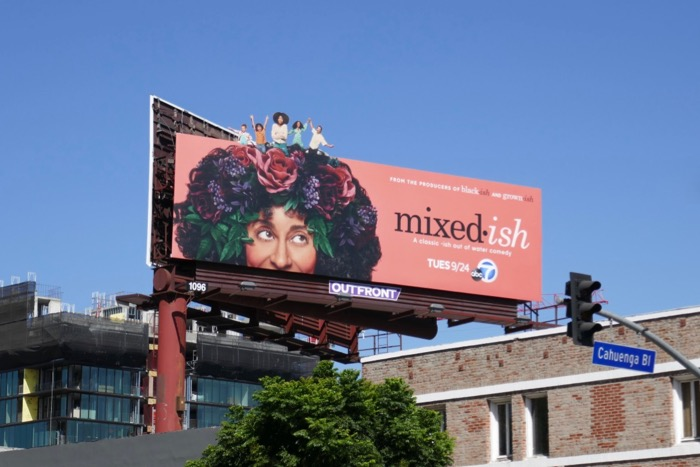 Mixedish series billboard