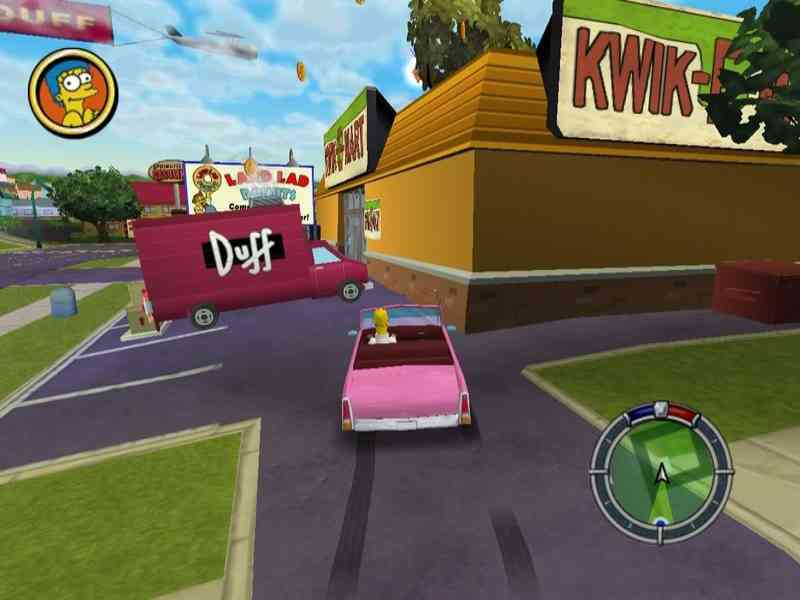 The Simpsons Hit And Run Game Download Free For PC Full ...