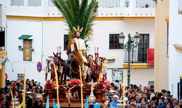 Las Cabezas de San Juan tiene ya Virgen para el Domingo de Ramos