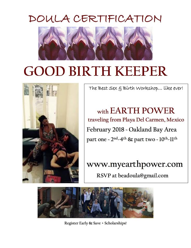 GOOD BIRTH KEEPER DOULA COURSE FLIER