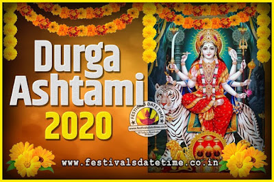 2020 Durga Ashtami Pooja Date and Time, 2020 Durga Ashtami Calendar