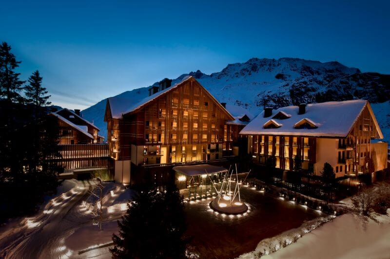 In Central Europe, The Chedi Andermatt claimed a place among the top 15 hotels.
