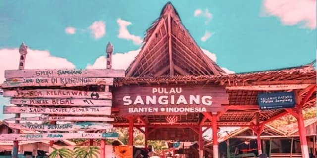 pulau sangiang, pulau eksotis di Selat Sunda