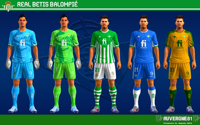 Kits Real Betis 2021-2022 For PES 2013