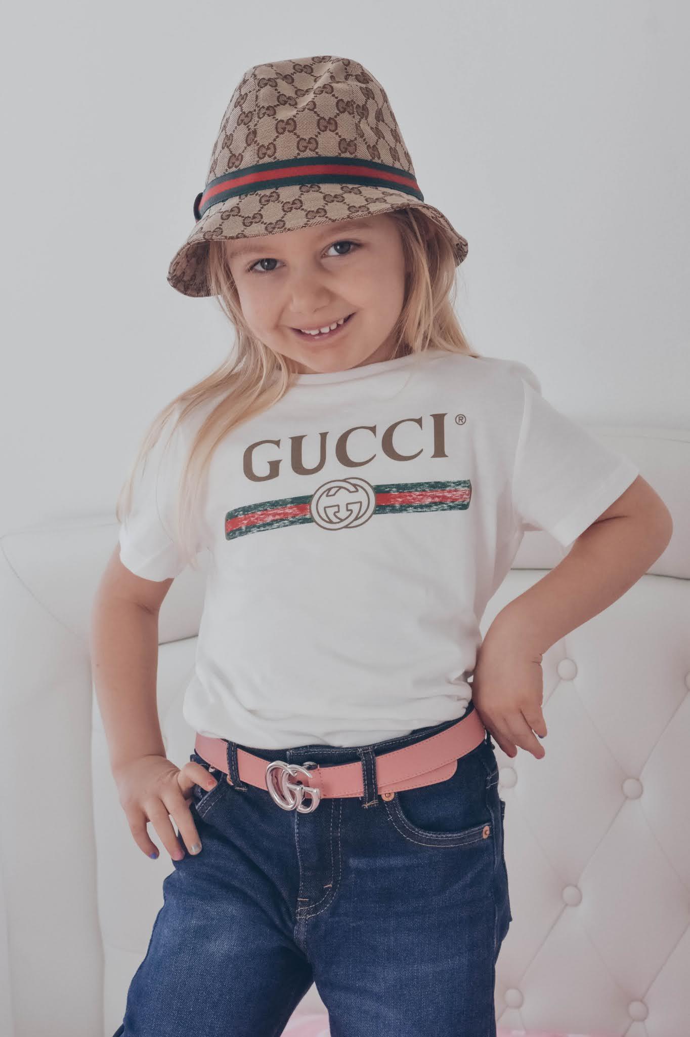 maglietta gucci bambina
