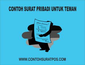 Gambar untuk Contoh Surat Pribadi Untuk Teman Dalam Bahasa Inggris dan Indonesia