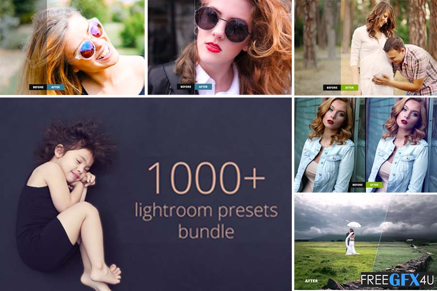 1000+ Lightroom Preset Bundle