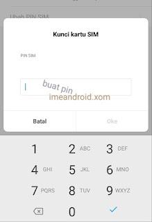 Lock SIM card xiaomi