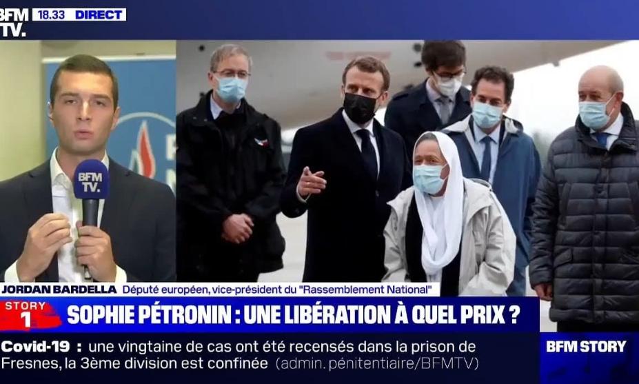 VIDÉO : Réaction de Jordan Bardella sur la volonté de Sophie Pétronin de retourner au Mali