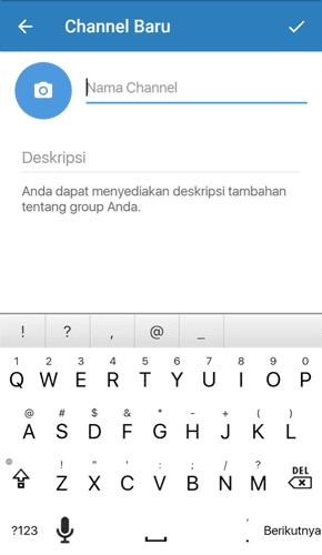 Nama dan Deskripsi Channel Telegram