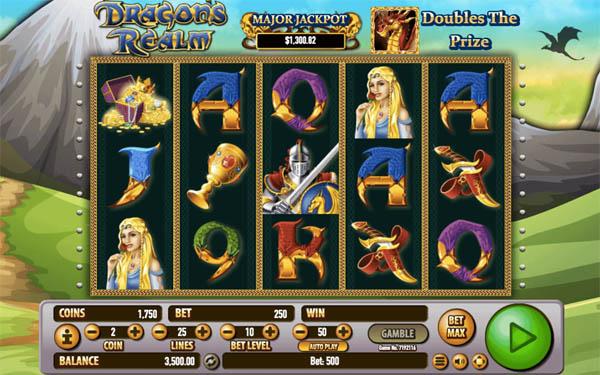 Main Gratis Slot Indonesia - Dragon's Realm Habanero
