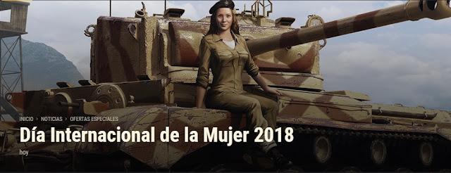 Wot celebrara el día Internacional de la Mujer 2018