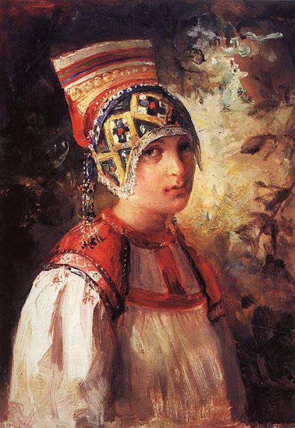 Маковский Владимир Егорович - Крестьянка. 1897