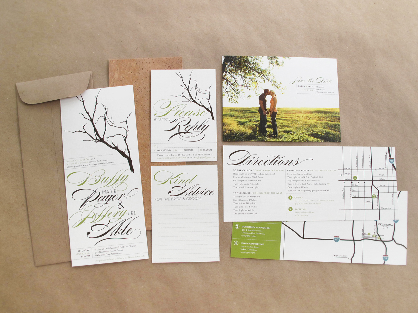 The Best Wedding Invitations: Spring Wedding Invitations: The Best Spring Wedding