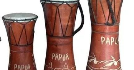 10 Alat Musik Tradisional Papua Barat Timur Gambar Fungsi Dan Cara Memainkan