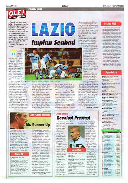 S.S LAZIO FOOTBALL CLUB PROFILE