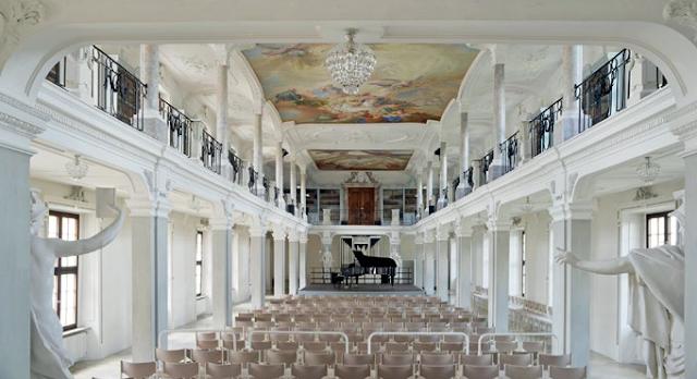 Library Hall, Ochsenhausen, Germany (Photo Steffen Dietze)