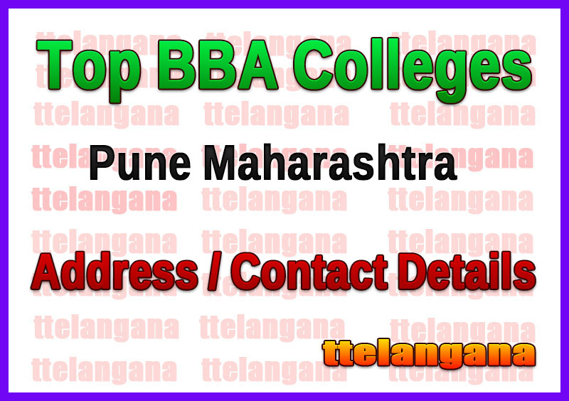 Top BBA Colleges in Pune Maharashtra