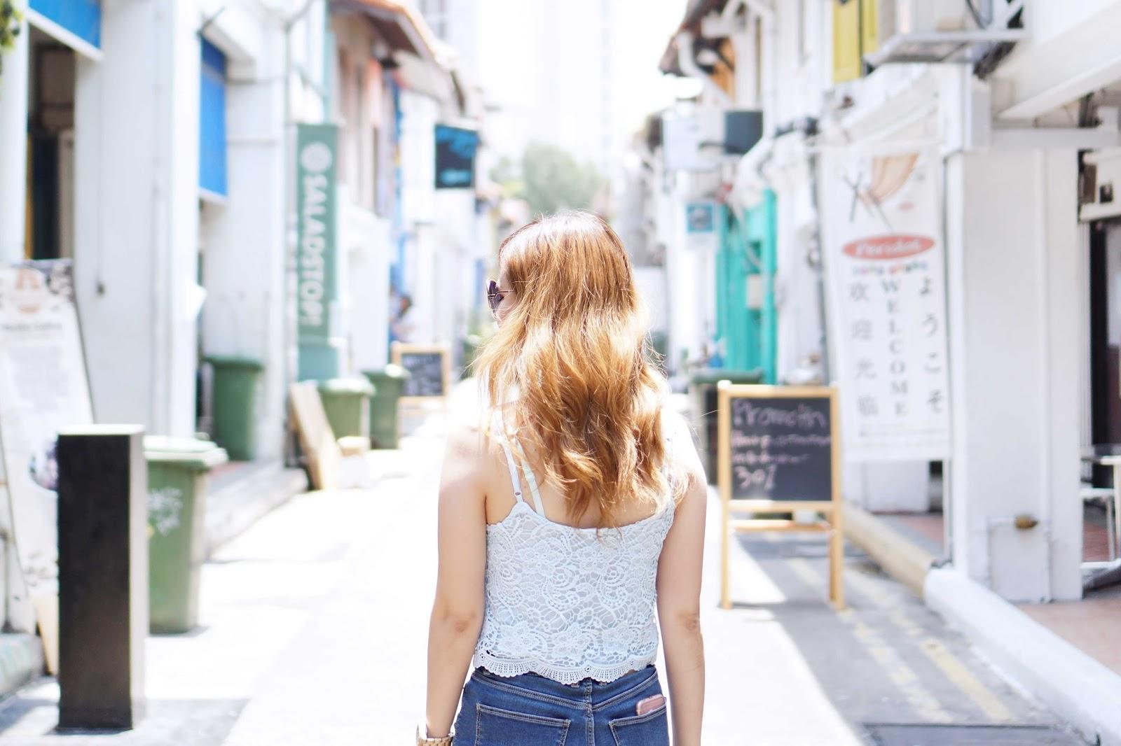 haji lane, singapore, travel with jeanmilka, jeanmilka in singapore, haji lane, travel, travel to singapore, wonderlust