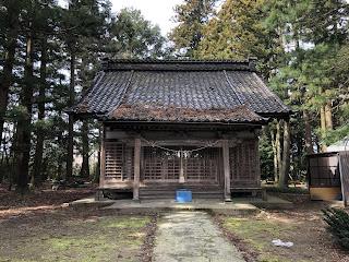 刀尾神社本殿