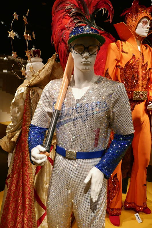 Elton John Rocketman Dodgers baseball costume
