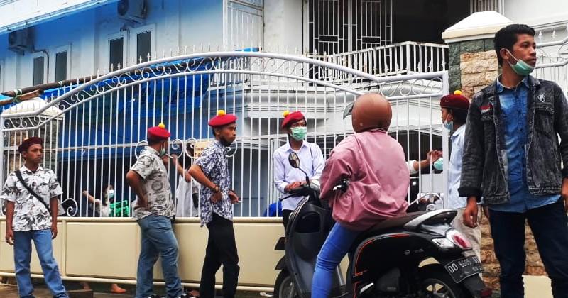 Pastikan Keamanan Perayaan Tri Hari Suci, PMKRI Makassar Lakukan Pengaman