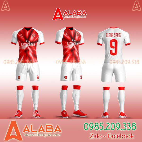 Áo CLB Arsenal tự thiết kế mã ARB AR03 đẹp