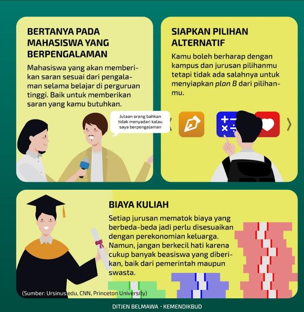 Tips Memilih Jurusan di Perguruan Tinggi