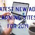 Ultimele reclame noi Câștigă site-uri web pentru 2019