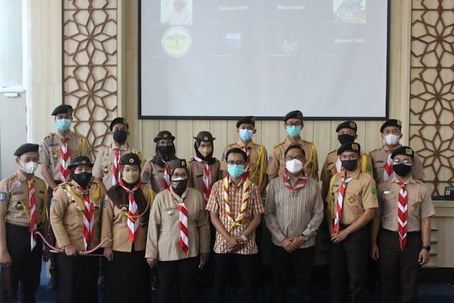 Pelantikan Dewan Racana Universitas Muhammadiyah Yogyakarta