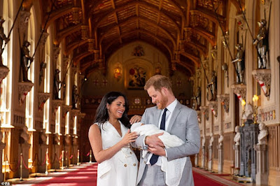The real meaning of the name ARCHIE and who they Harry and Meghan Markle named the baby after