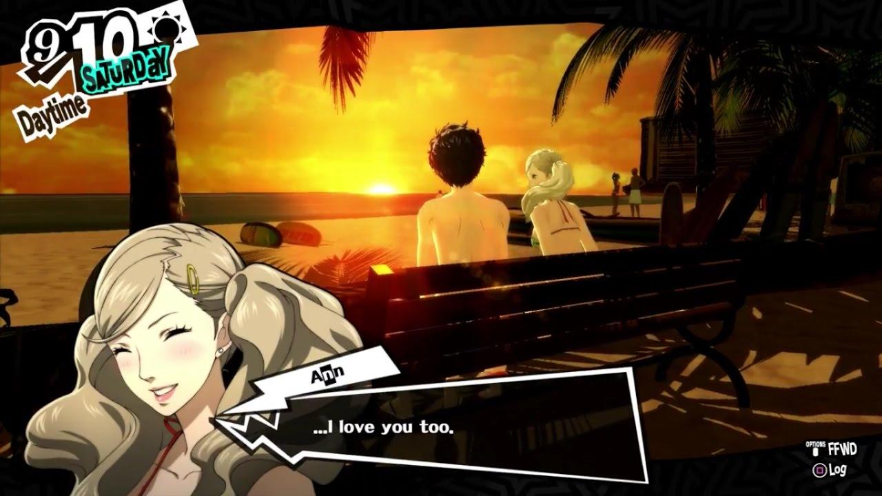 You persona someone tell 5 them love Persona 5