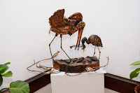 """Of Sounds and Silences"" by Raviram Ramakrishnan, Image courtesy Galerie de' arts, Sculpture in decor"