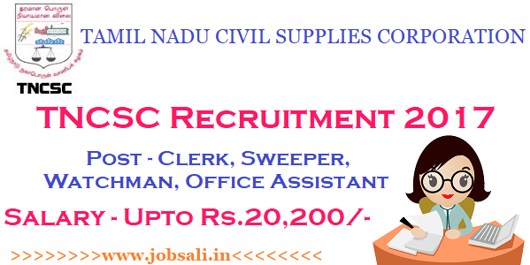 clerk jobs in tamilnadu 2017 , 12th pass govt job for female, civil supply recruitment 2017