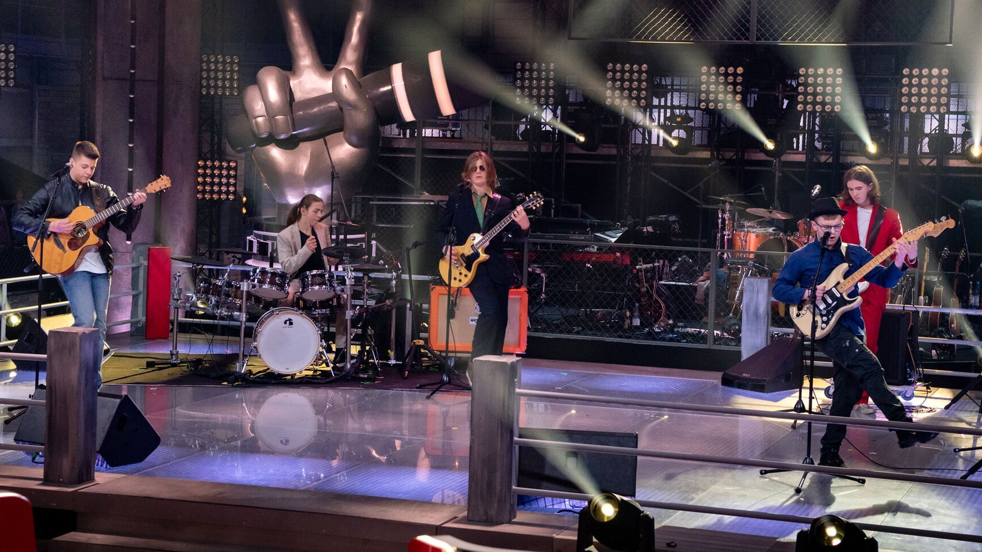Marko & Batteries of Rock & Joshua - Are You Gonna Go Be My Girl || The Voice Kids: